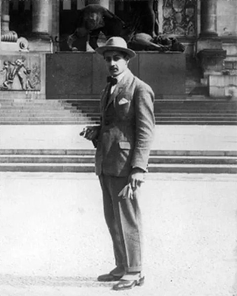 Serge Poliakoff à Berlin en 1922