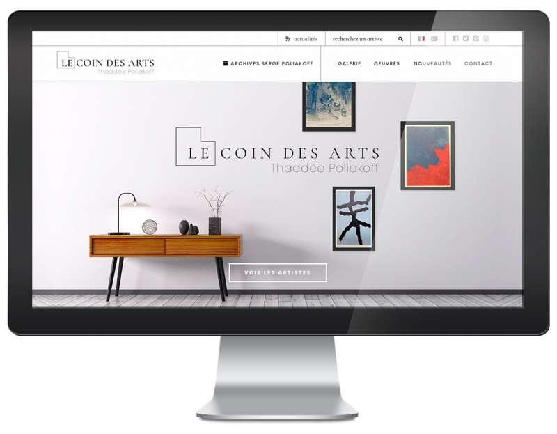 Nouveau site Le Coin des Arts