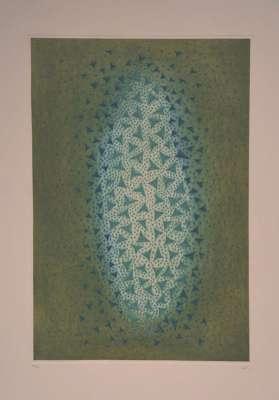 Eclats du bleu (Gravure) - Arthur Luiz  PIZA