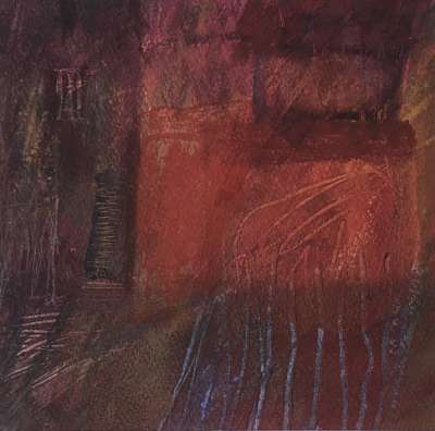 Crépuscule (Oil on paper) -  MAUPUR