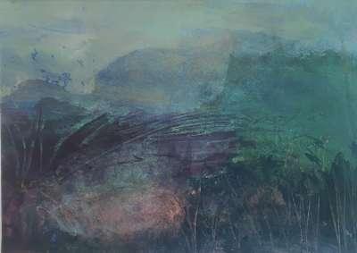 Matin thaï (Tempera) - Gilles MAUPUR