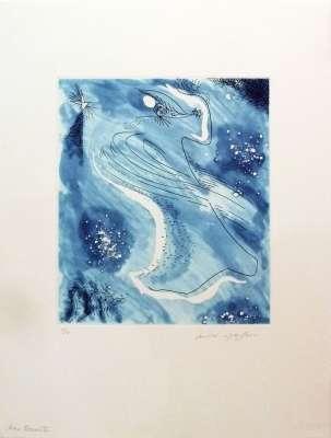 Âme errante (Eau-forte et aquatinte) - André  MASSON