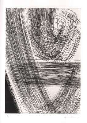 GM 1978-12 (Eau-forte et aquatinte) - Hans HARTUNG