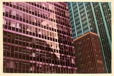Sans titre (Tirage argentique rehaussé couleur) - Elizabeth LENNARD