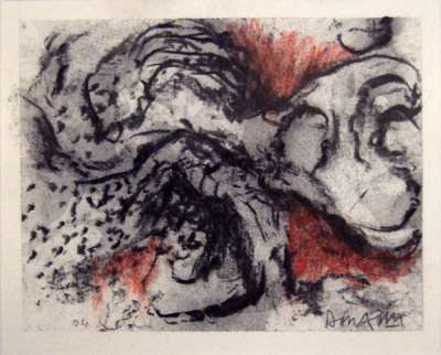 No title III (Charcoal) - Jean-Jacques  DOURNON