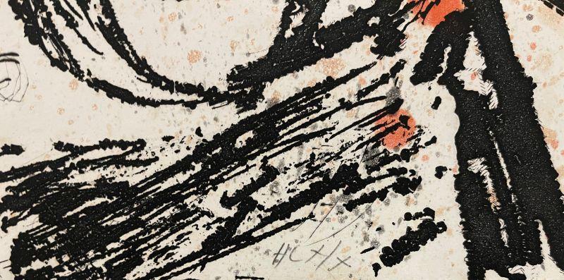 Le courtisan grotesque (Eau-forte et aquatinte) - Joan  MIRO