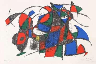 Joan Miro Lihthographer II (Lithograph) - Joan  MIRO