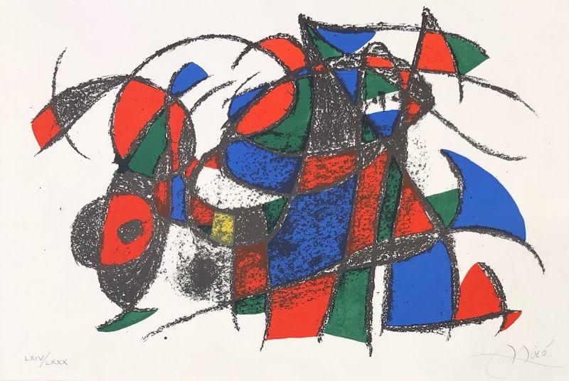 Joan Miro Lithographe II (Lithographie) - Joan  MIRO