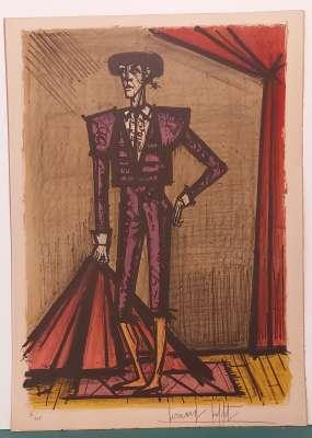 Torero (Lithographie) - Bernard BUFFET