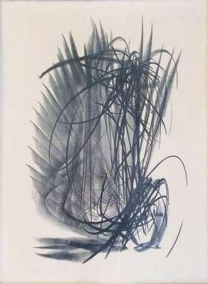 L121 (Lithographie) - Hans HARTUNG