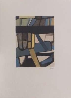 Bredin (Lithographie) - Maurice ESTEVE