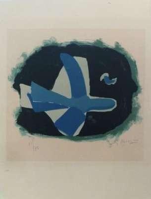 Oiseau des Forêts (Lithographie) - Georges BRAQUE
