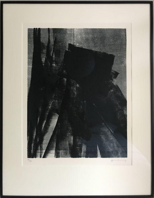 L1977-4 (Autograph) - Hans HARTUNG