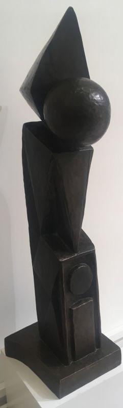 Le moine (Sculpture) - Stéphane KILAR