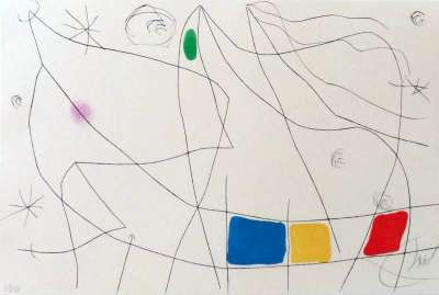 L'issue dérobée (Aquatinte) - Joan  MIRO