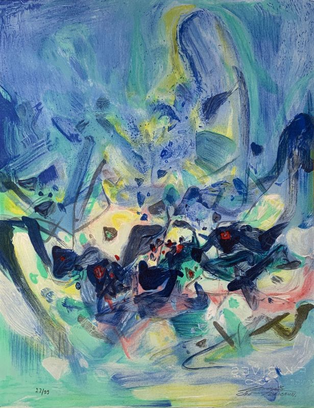 Saison bleue (Livre illustré) - Teh-Chun CHU