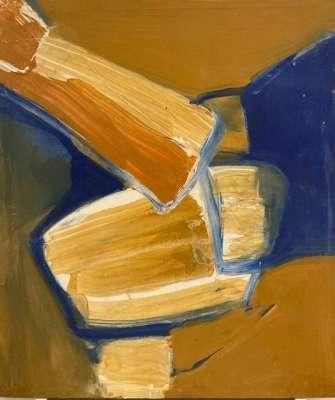 Sans Titre (Huile sur toile) - Bertrand DORNY
