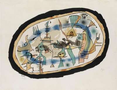 Birth of the day (Lithograph) - Joan  MIRO