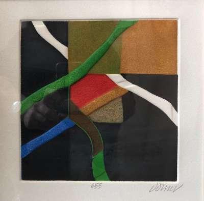 Itinéraire imaginaire 5 (Aquatint) - Bertrand DORNY