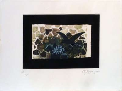 Le Nid Vert (Etching and aquatint) - Georges BRAQUE