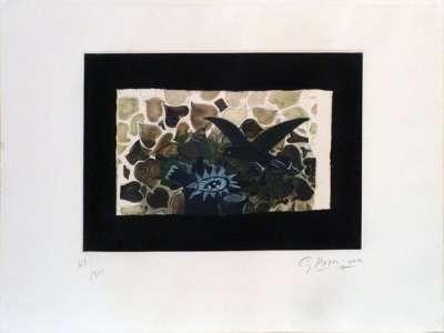 Le Nid Vert (Eau-forte et aquatinte) - Georges BRAQUE