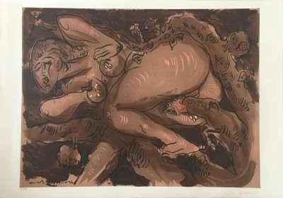 Sans Titre (Lithographie) - André  MASSON