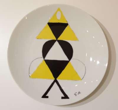 Danseuse jaune (Porcelaine) - Sonia DELAUNAY-TERK