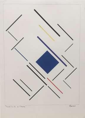 Amplitude de champ (Dessin) - Geneviève CLAISSE