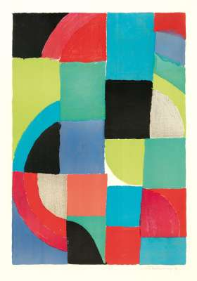 Printemps (Farblithographie) - Sonia DELAUNAY-TERK