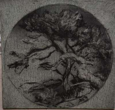 Kernoc (Huile sur toile) - Jean-Jacques  DOURNON