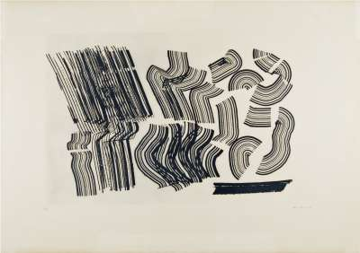 G1970-2 (Etching and aquatint) - Hans HARTUNG