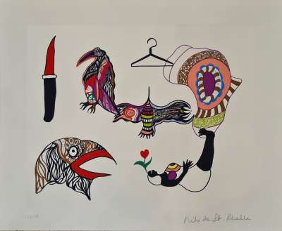 (Lithograph) - Niki DE SAINT PHALLE