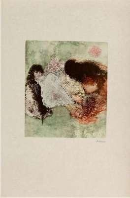 Les Mariés (Gravure) - Hans BELLMER