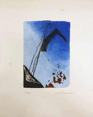 """""""Canti Pisani"""" (Engraving) - Giuseppe  SANTOMASO"""