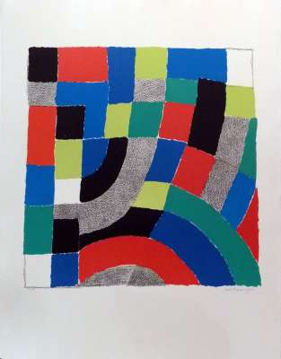 No title (Lithograph) - Sonia DELAUNAY-TERK
