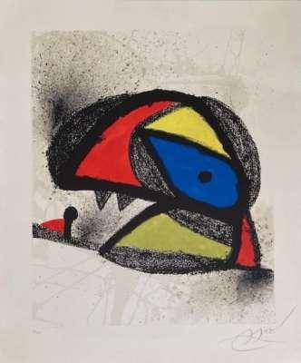 Homenatge A J. Torres Clavé (Lithograph) - Joan  MIRO