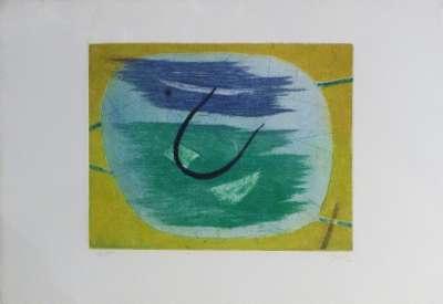 Sans titre (Gravure) - Henri GOETZ