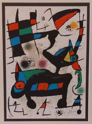 Oda A Joan Miro (Lithograph) - Joan  MIRO