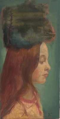 Invocation (Huile sur toile) - Dolores  CAPDEVILA
