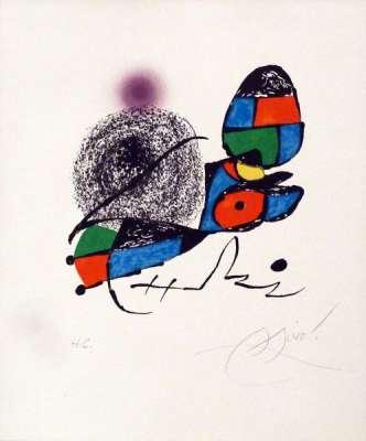 Fundacio Joan Miro Barcelone (Lithographie) - Joan  MIRO