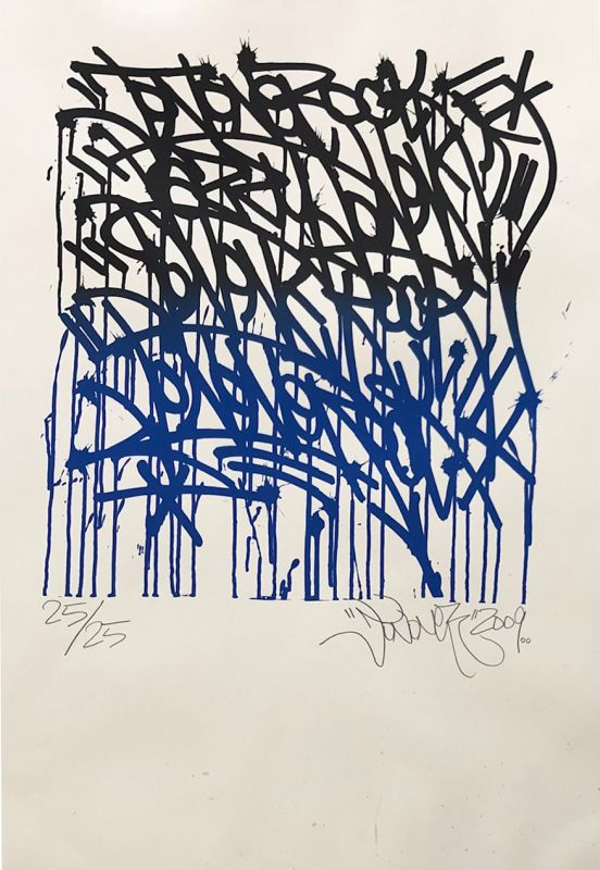 "JONONE (1963) / ""Urban Calligraphy"" (Sérigraphie) -  Artistes Divers"