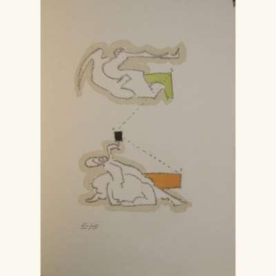 Sans titre (Lithographie) - Dorothea  TANNING