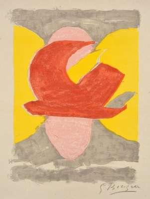 Descente aux enfers planche 4 (Lithographie) - Georges BRAQUE