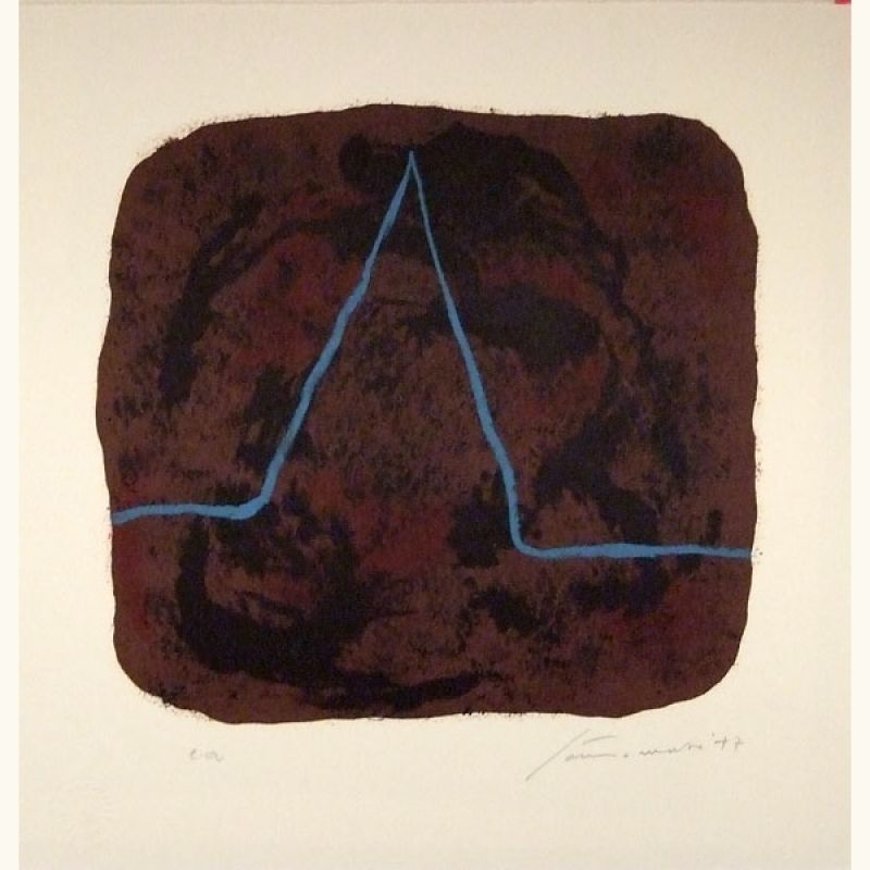 Nietzsche (Lithograph) - Giuseppe  SANTOMASO