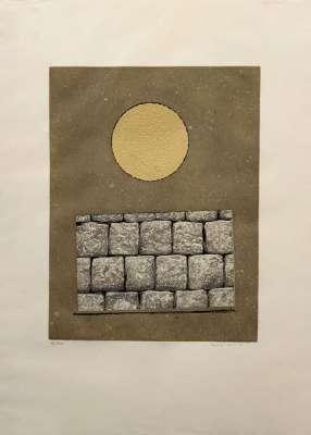 Le plus beau mur de mon royaume (Eau-forte et aquatinte) - Max ERNST