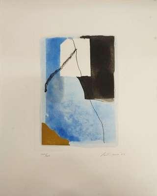 """""""Canti Pisani"""" (Gravure) - Giuseppe  SANTOMASO"""