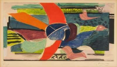 Oiseau multicolore (Eau-forte et aquatinte) - Georges BRAQUE