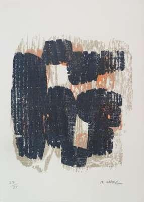 Sans titre (Lithographie) - Raoul UBAC