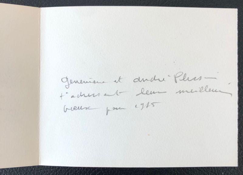 Henri PLISSON / Femmes (Carte de voeux) -  Artistes Divers