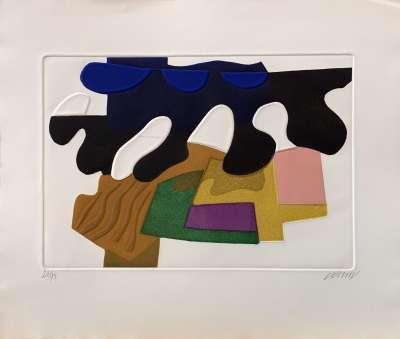 Suite des architectures non répertoriées (Aquatinte) - Bertrand DORNY